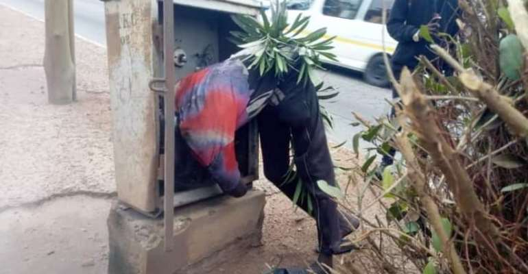 Tema: Unidentified Cable Thief Electrocuted
