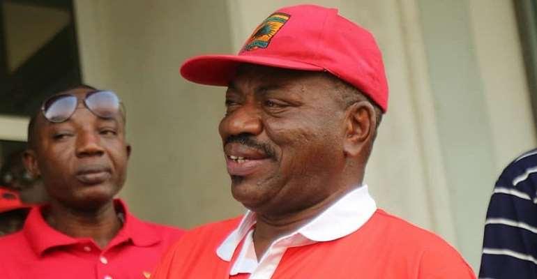 Former Asante Kotoko CEO George Amoako