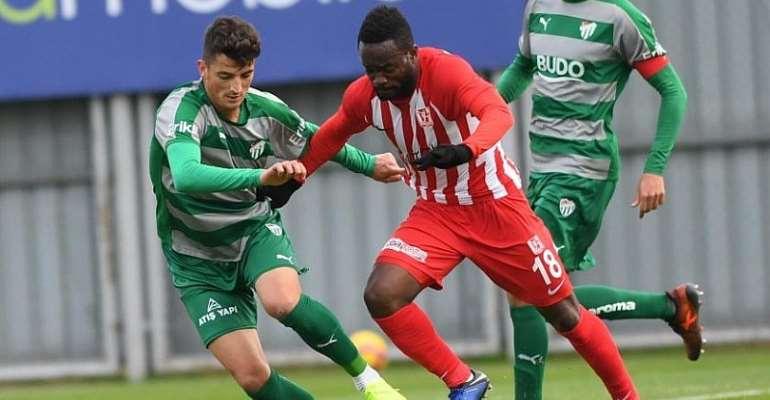 Striker Mahatma Otoo Scores Brace In Balıkesirspor's 3-1 Win Against Giresunspor