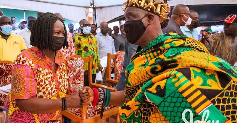 There's nothing wrong with Mahama's 'do or die' comment; I'm happy he's ensuring that his victory is not stolen – Ejura chief