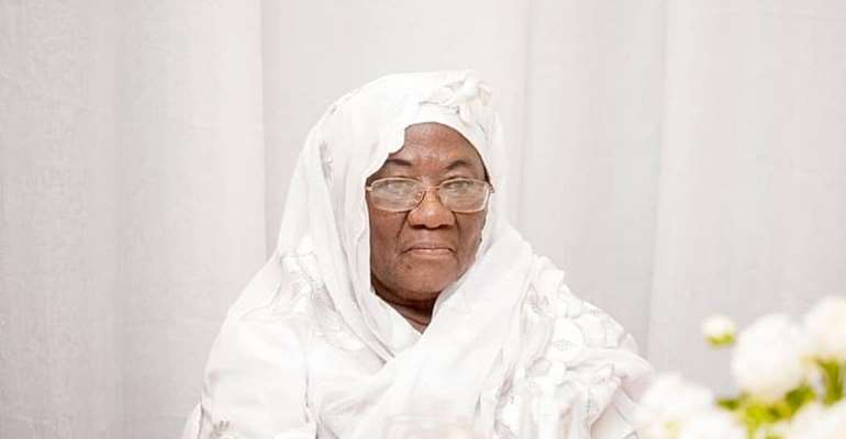 Watch live: Burial of Bawumia's mother today