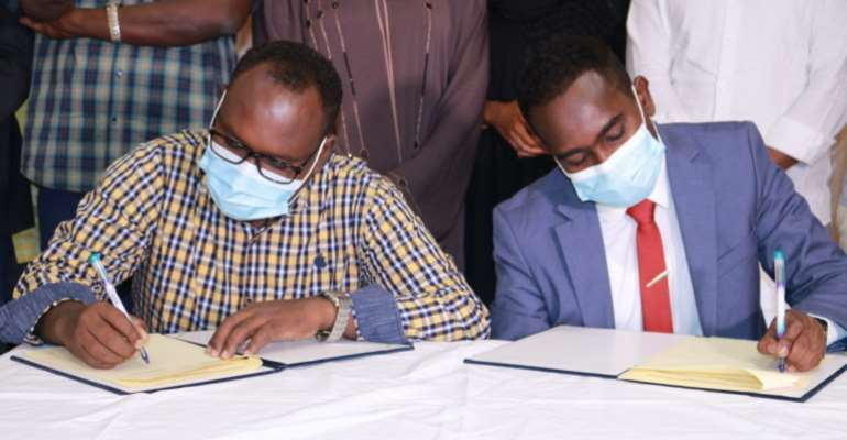 SJS, SOMA sign a historic MOU to defend press freedom and improve media professionalism in Somalia