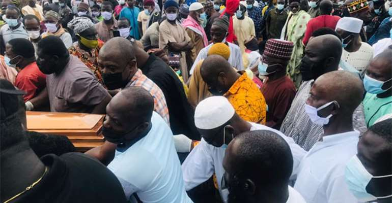North East: Bawumia's mother laid to rest at Kperiga