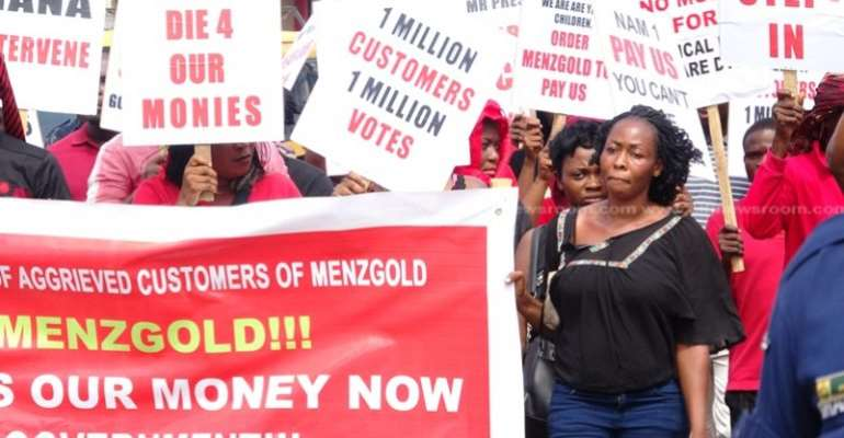 Menzgold customers run to Parliament for intervention to retrieve their funds