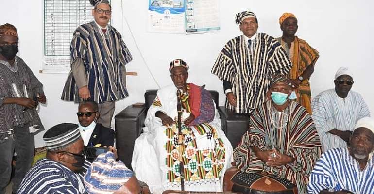 Indian High Commissioner to Ghana visits Wa Naa