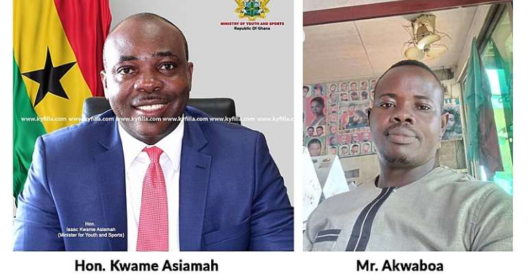 NPP Youth bare teeth at Atwima Mponua Constituency MP over alleged poor performance, no constituency office after 16years