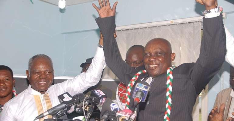 Edward Mahama Unveils Running Mate