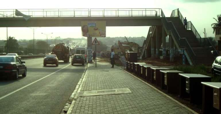 The Need for Footbridge at Block Factory Junction in the Ga West Municipality