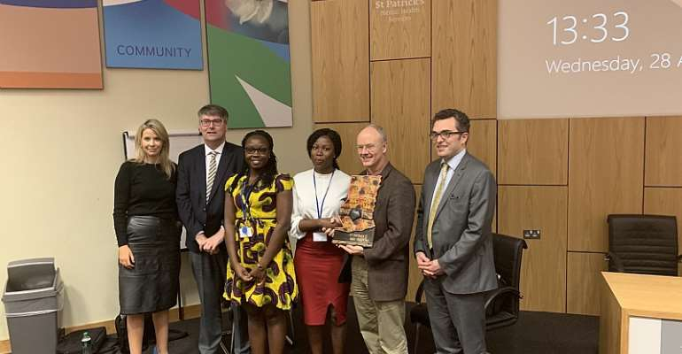 University Of Cape Coast Medical Students Complete Psychiatric Elective Placement In Top Dublin Hospital