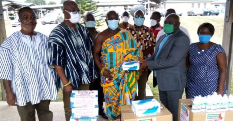 Ho Teaching Hospital Receives Support From Volta Union UK/Europe