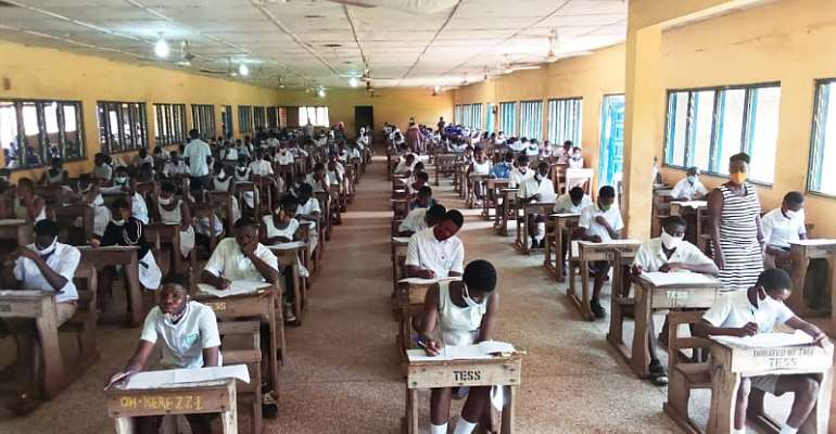 BECE Takes Off Smoothly In Techiman Municipality
