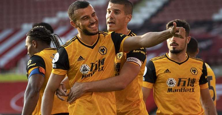 Raul Jimenez And Romain Saiss Strike Early As Wolves Beat Sheffield United