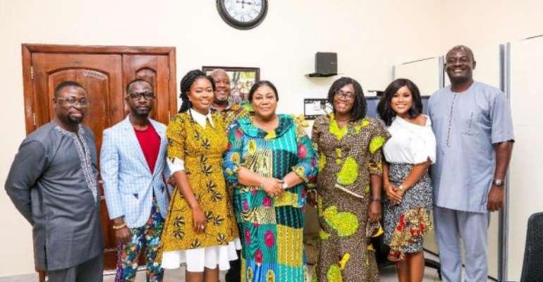 Ghana's First Lady Rebecca Becomes TVET Ambassador