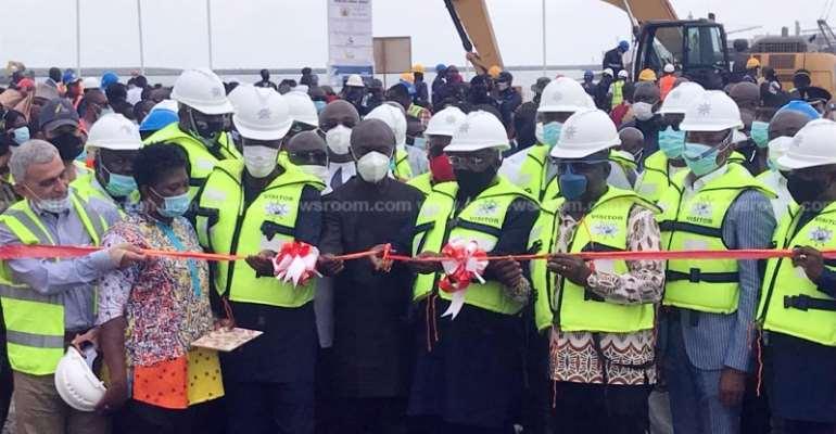 Takoradi Port: $56.7 Million Liquid Bulk Terminal Commissioned