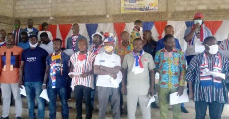 2020 Elections: Campaign Team Of NPP Amenfi Central Inaugurated