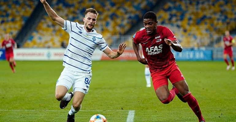 UCL Qualification: Myron Boadu Features For AZ Alkmaar In Defeat To Dynamo Kyiv