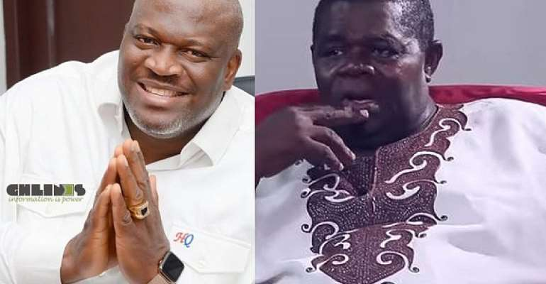 Henry Quartey offers to give veteran actor Psalm Adjeteyfio GHc1,500 from his salary every month