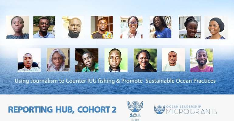 SOA Ghana announces second cohort of its ocean and marine reporting fellowship
