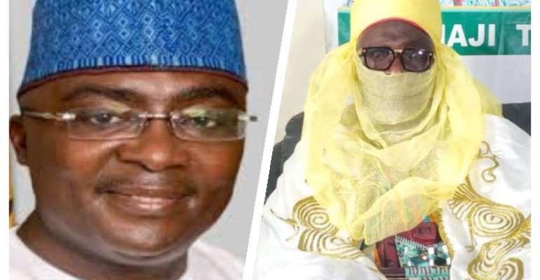 Accra Zabarma Chief send condolences to Bawumia over lost of Mother