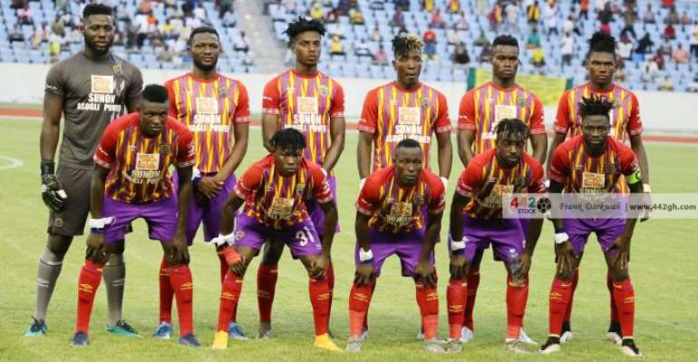 Caf Champions League: Hearts of Oak announce ticket prices for Cl Kamsar game