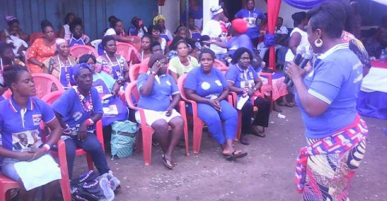 Otiko Mobilizes Women For Victory 2016