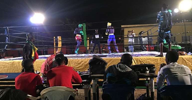 Bigzie Kick Boxing Fight Night 2: Aminu Quarshie shines