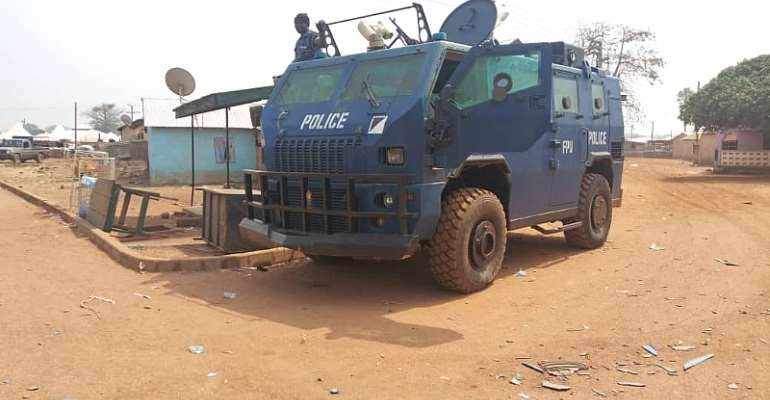 Police Swoop: Over 300 Arrested At Madina
