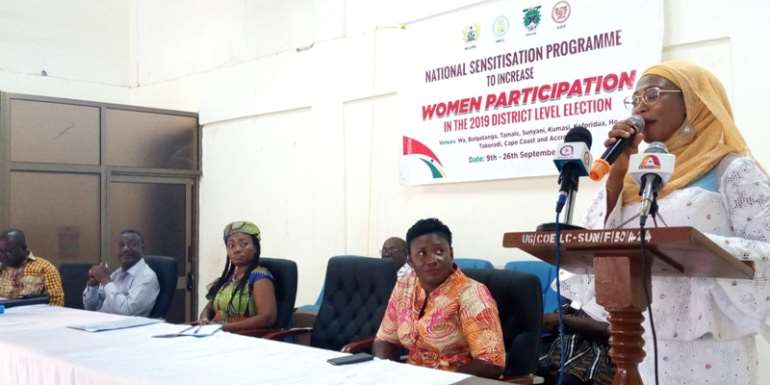 NALAG Trains Female Aspirants For 2019 District Level Elections