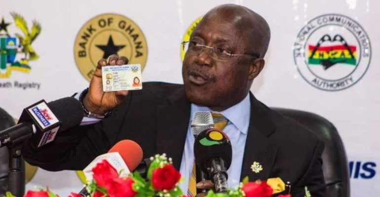 NIA Registers Nearly 3million Ghanaians For Ghana Card