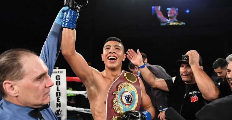 How Mexican Munguia Brutally Stopped Patrick Allotey In World Title Bout [VIDEO]