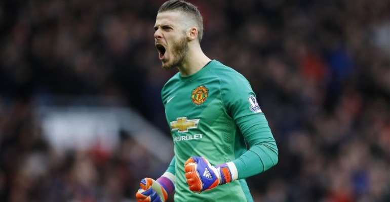 De Gea Signs New Man Utd Contract