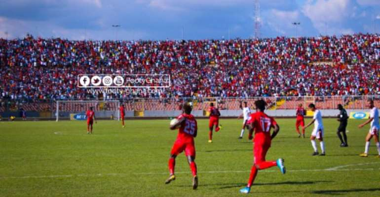 CAF Champions League: Kotoko Make ¢653k From Gate Proceeds Against Etoile