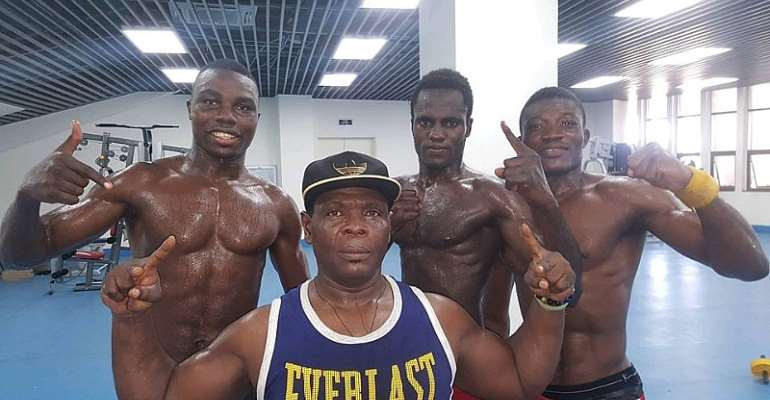 Boxers Cannot Wait To Start Light Training And Jogging