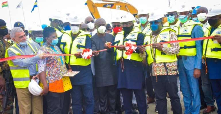 Bawumia Commissions $56.7m Liquid Bulk Terminal At Takoradi Port