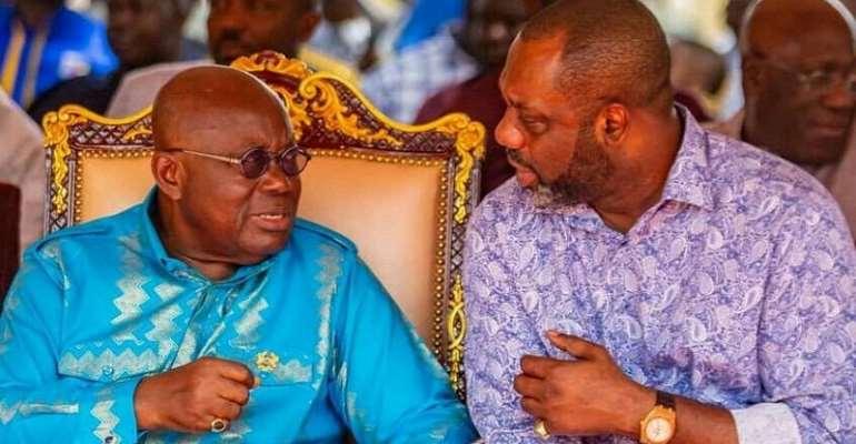 FLASHBACK; Napo and President Akufo-Addo