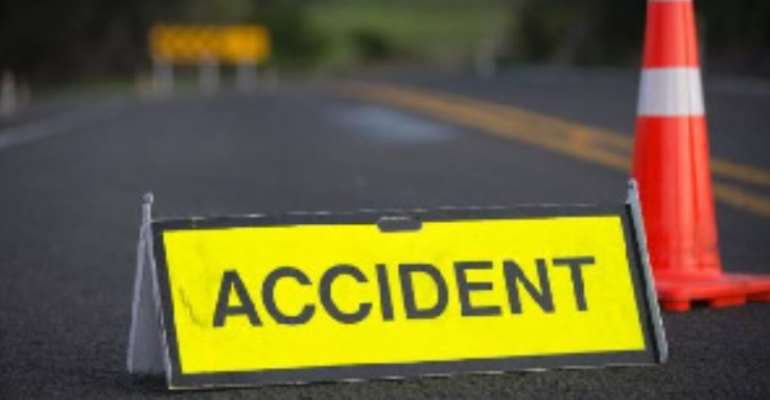 Five Killed In Car Crash On Accra-Cape Coast Road, Others Injured