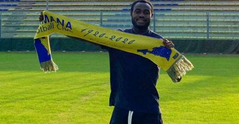 Winger Kingsley Boateng Charged For Loan Spell At Italian Club Fermana FC