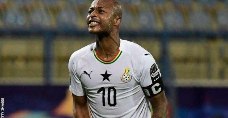 Black Stars captain Andre Ayew