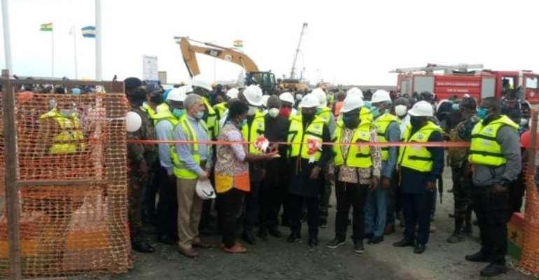Bawumia Cuts Sod For Three-tier Interchange In Takoradi