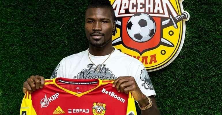 Russian Outfit FC Arsenal Tula Sign Ghanaian Defender Kadiri Mohammed