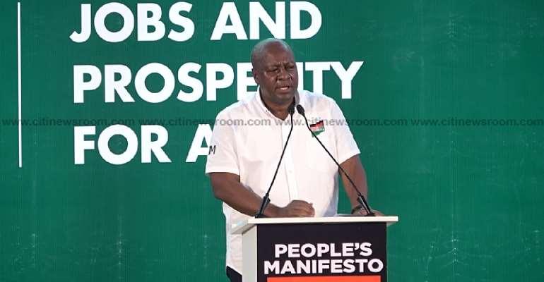 'Sakawa' Sod Cuttings By NPP Meant To Influence Votes — Mahama