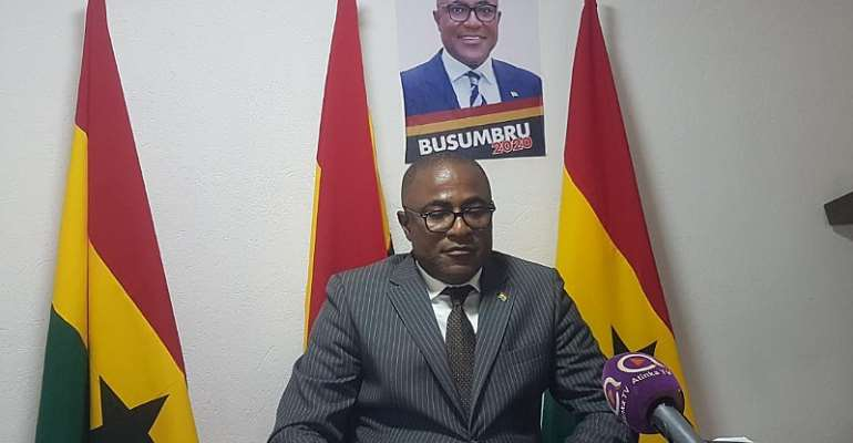 I Have No Option Than To Raise EC's 100k---PAP Founder Kwesi Busumbru