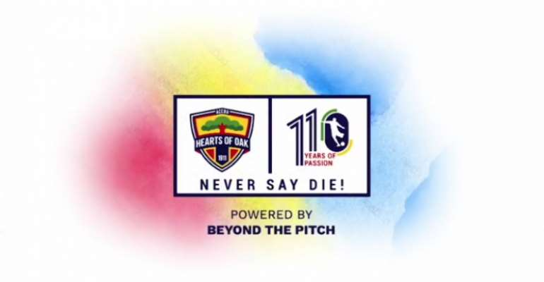 Champions Hearts of Oak 110th anniversary logo unveiled