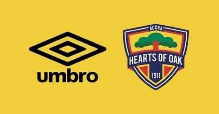 Hearts of Oak to unveil new UMBRO kits for 2021/22 football season today