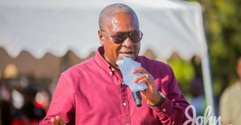 'Ghanaians are angry with the hypocrisy of economic experts who keep changing their mouth' – Mahama