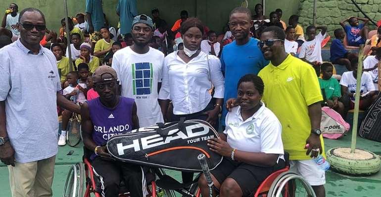 Nunoo Foundation holds Tennis Clinic