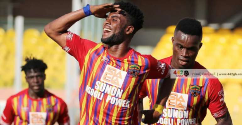 Caf Champions League: We will play to beat CL Kamsar - Hearts of Oak forward Afriyie Barnieh