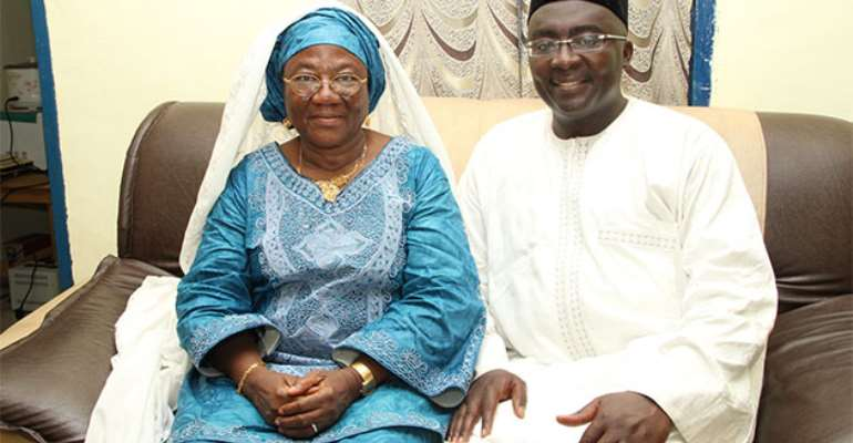 Final funeral rites of Bawumia's mother on October 24