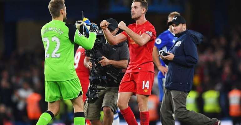 Henderson Leads Liverpool's Win At Chelsea