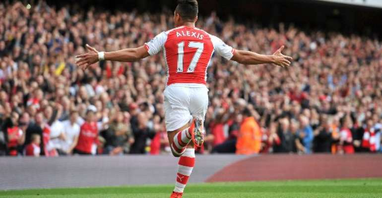 Alexis Sanchez scores twice as Gunners win with ease